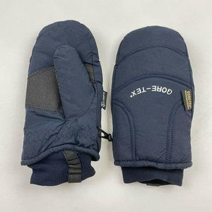 OLYMPIA Thermolite navy Gore-Tex Mittens Gloves